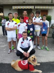 Podisti per un giorno, pronti per la corsa del Primo Maggio a Chiaravalle 01/05/2015